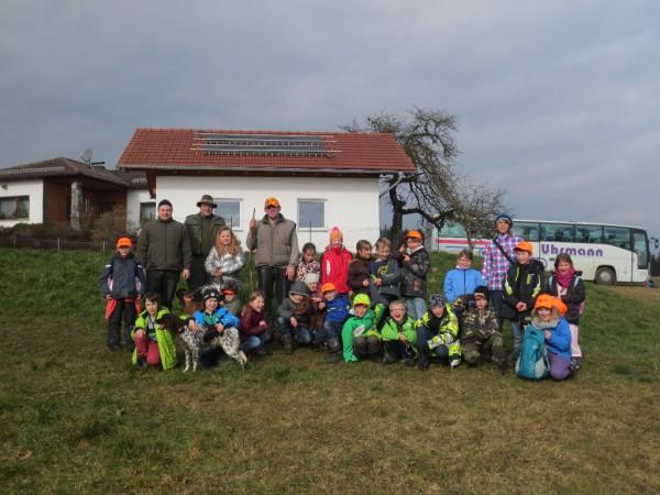 Unterrichtsgang Mit Dem Jäger In Den Wald 3 Klasse Grundschule